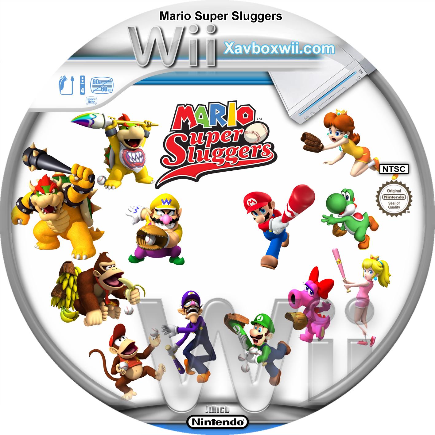 mario super sluggers  u06e9 u06e9 fiche jeux wii