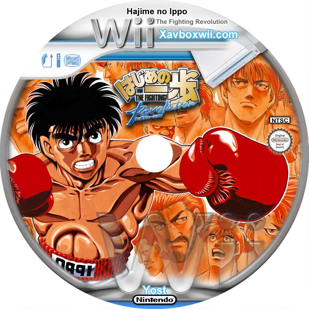 Hajime No Ippo Psp: Hajime No Ippo : The Fighting Revolution ۩۩ Fiche Jeux Wii