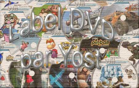 label DVD Wii
