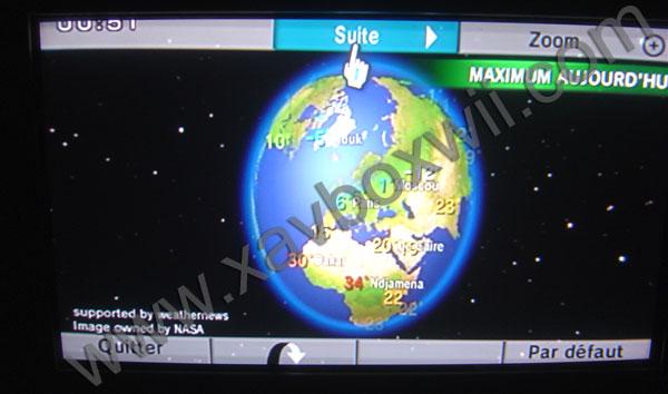 Xavboxwii liens bannières wii chaine météo la météo sur la wii