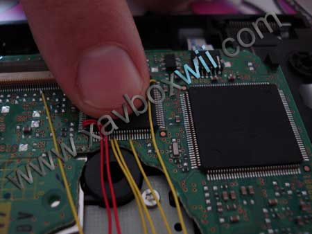taille du chipset D2E