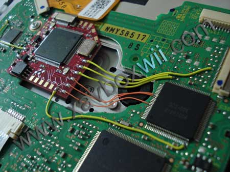 soudure chipset D2E