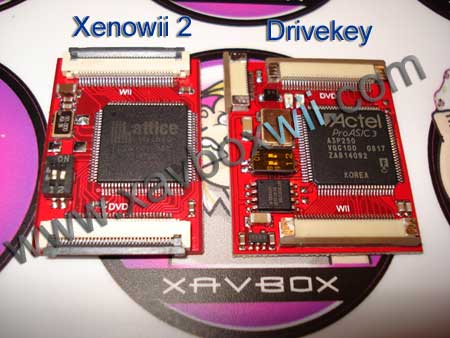 drivekey ou xenowii 2